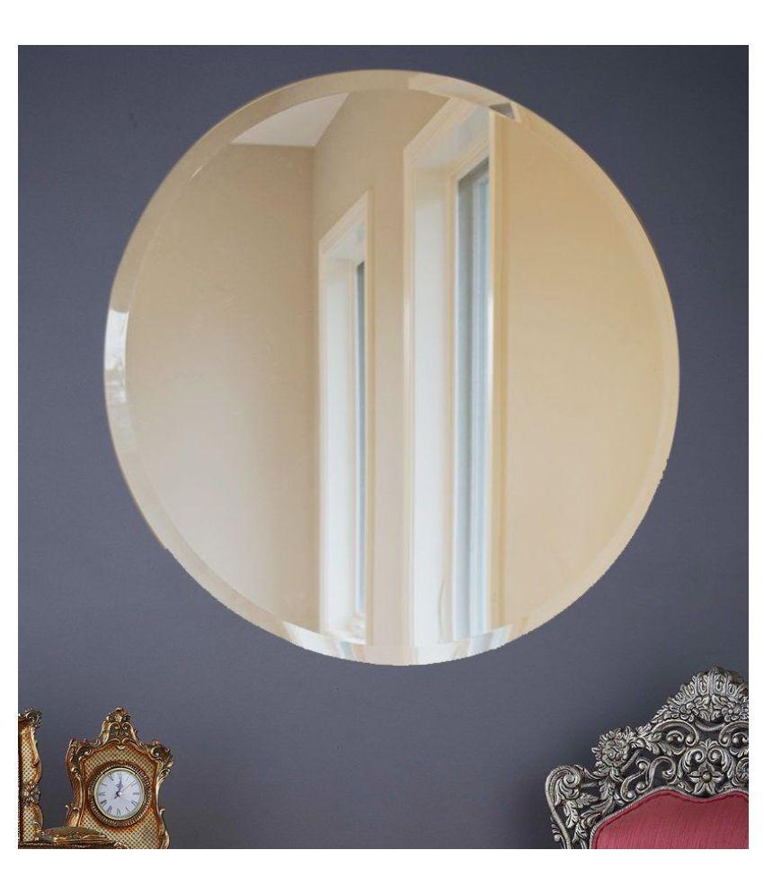 Elegant Arts  amp; Frames Mirror Wall Mirror   76 x 76 cms     Pack of 1