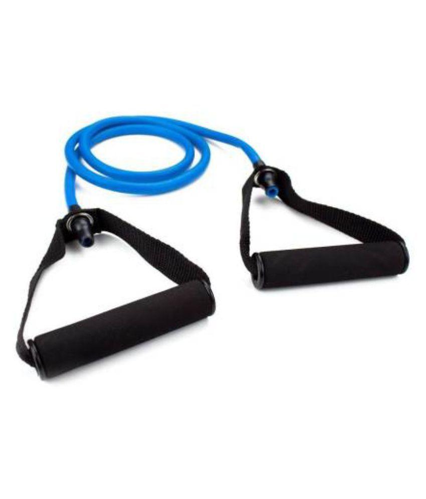 Single Resistance Tube, Exercise Toning Band Resistance Tube  Blue