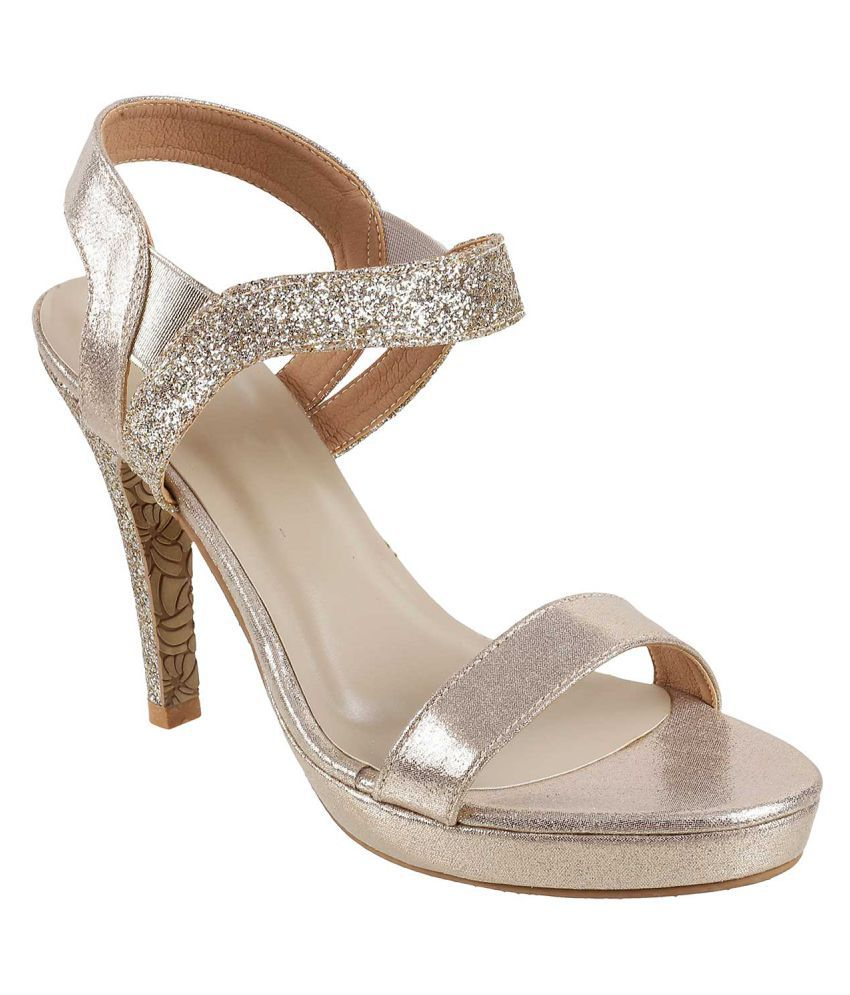 Metro GOLD Stiletto Heels