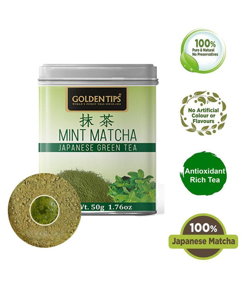 Golden Tips Green Tea Powder 50 gm