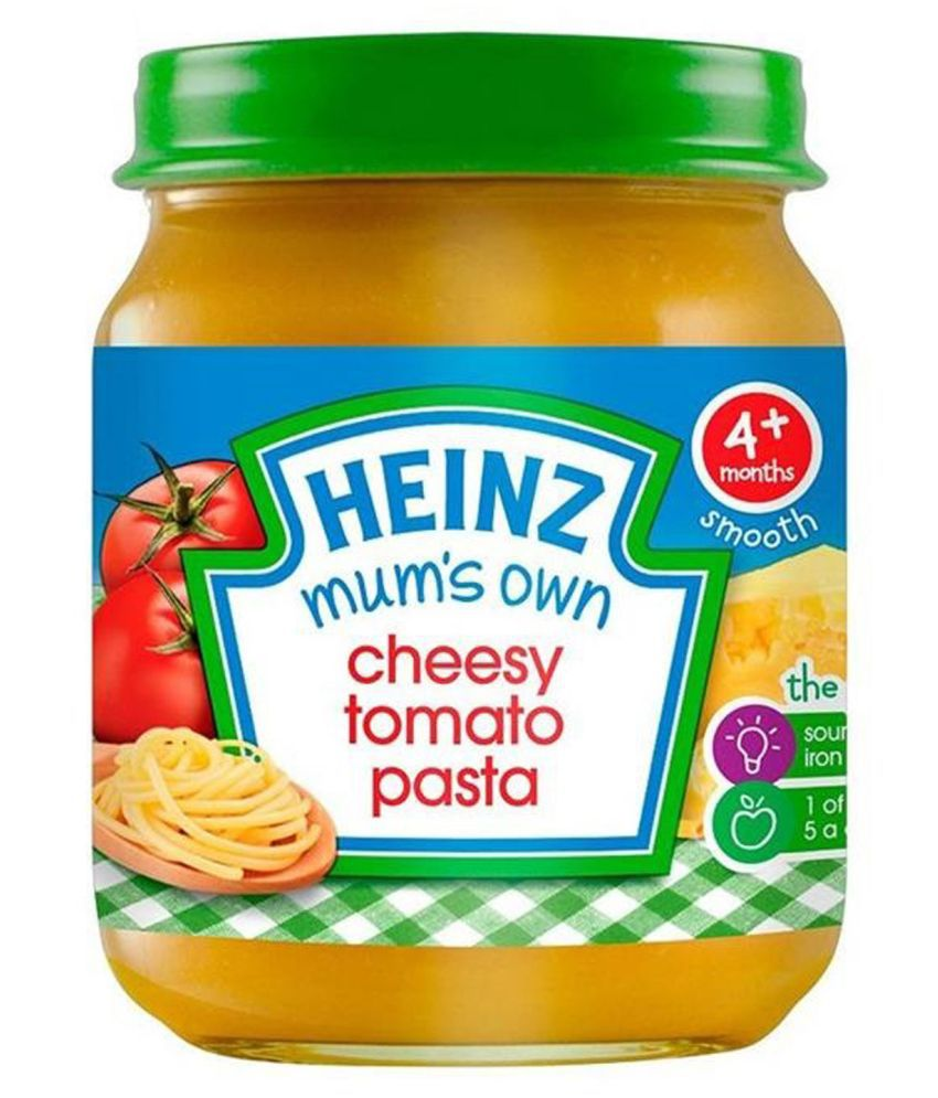 Heinz Mixed Fruits Snack Foods for 6 Months + ( 120 gm )