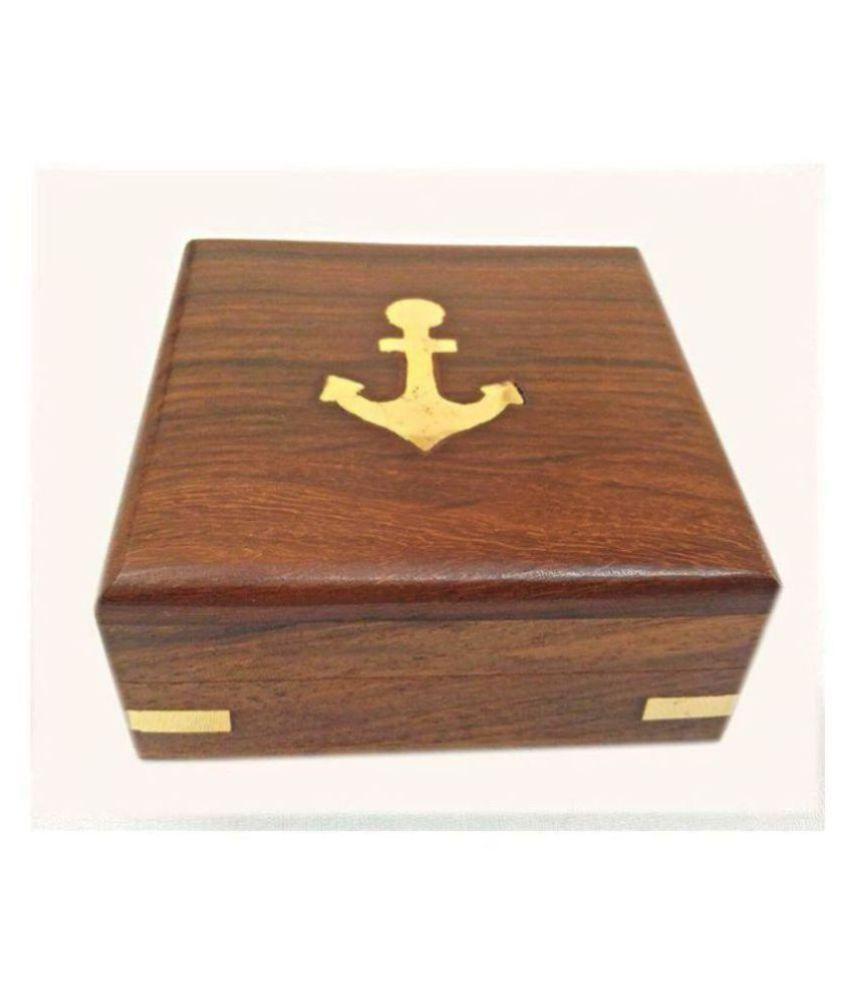 Small Wooden Jewellery/Pocket Watch Box