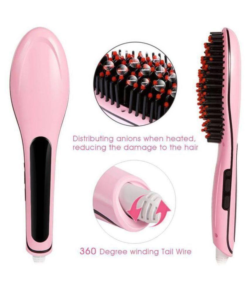 Om Enterprise Hair Straightener Hair Straightener ( PINK )