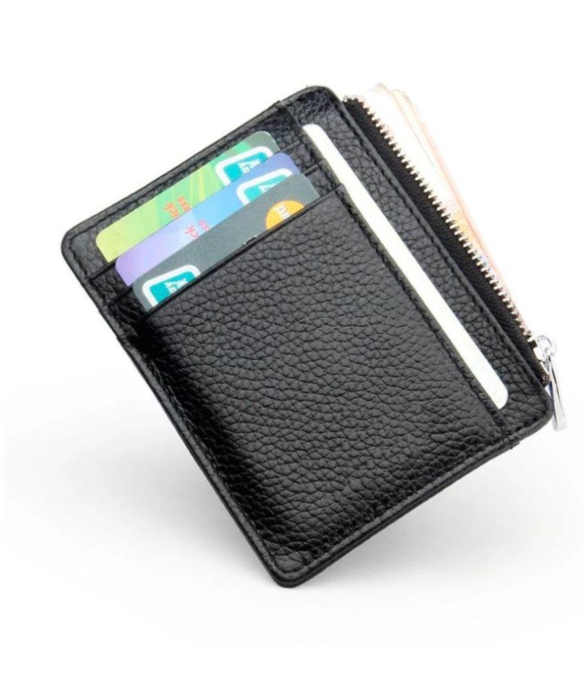 black zip card holder buy online at best price in india