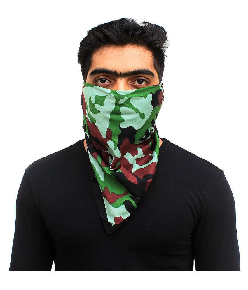 Camouflage Printed Cotton Headwraps 03