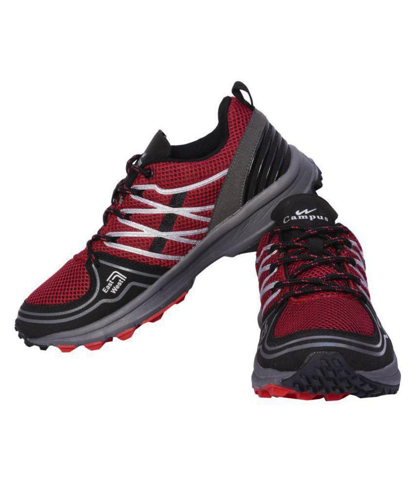 Campus Echo Running Shoes Black: Buy