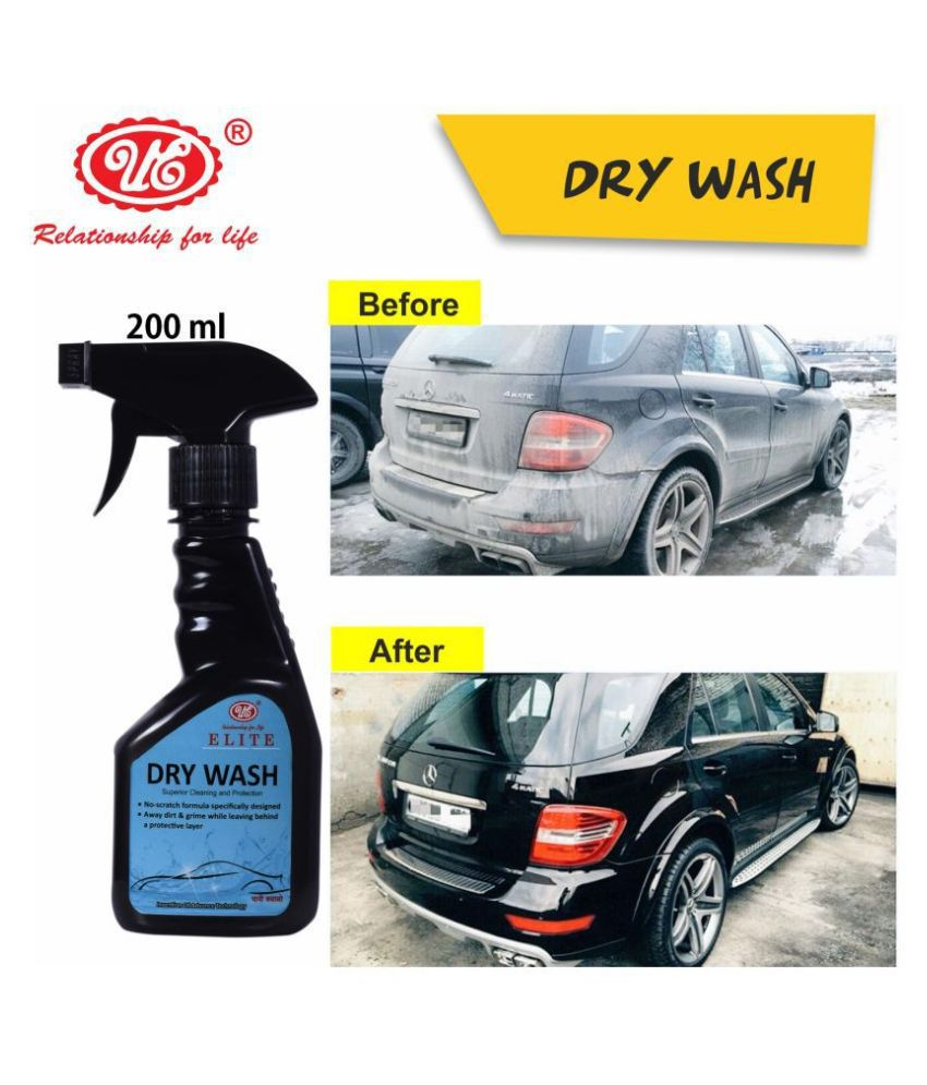 UE Elite Waterless Dry Car Wash Concentrate RAW Xtreme CX Carnauba Wax Rinseless/Waterless Auto Wash Concentrate - 200 ml Car Care/Car Accessories/Automotive Products