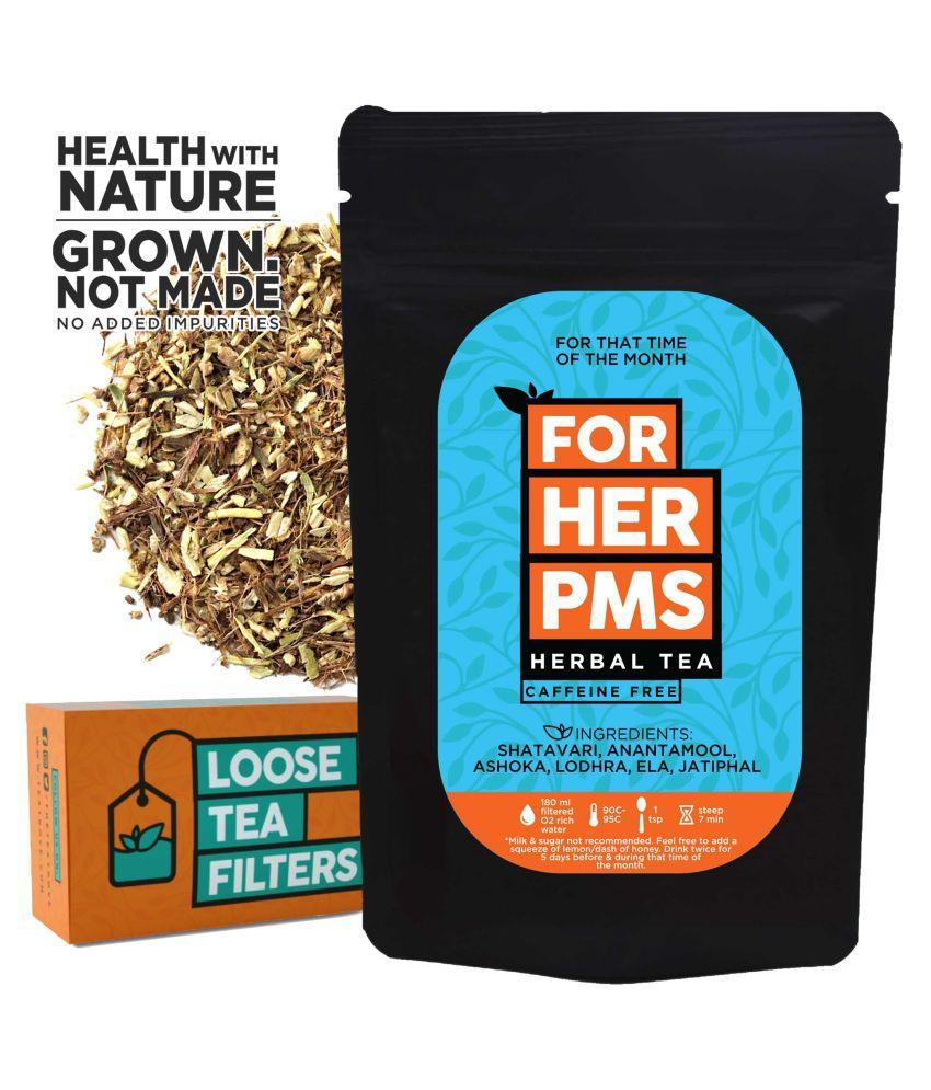 The Tea Trove Blackberry Leaves Tea Loose Leaf 50 gm