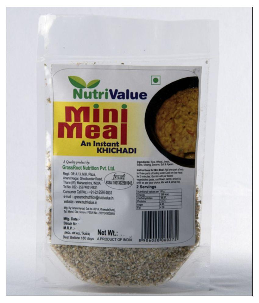 Nutri value Mini meal - Instant Khichdi 100 gm