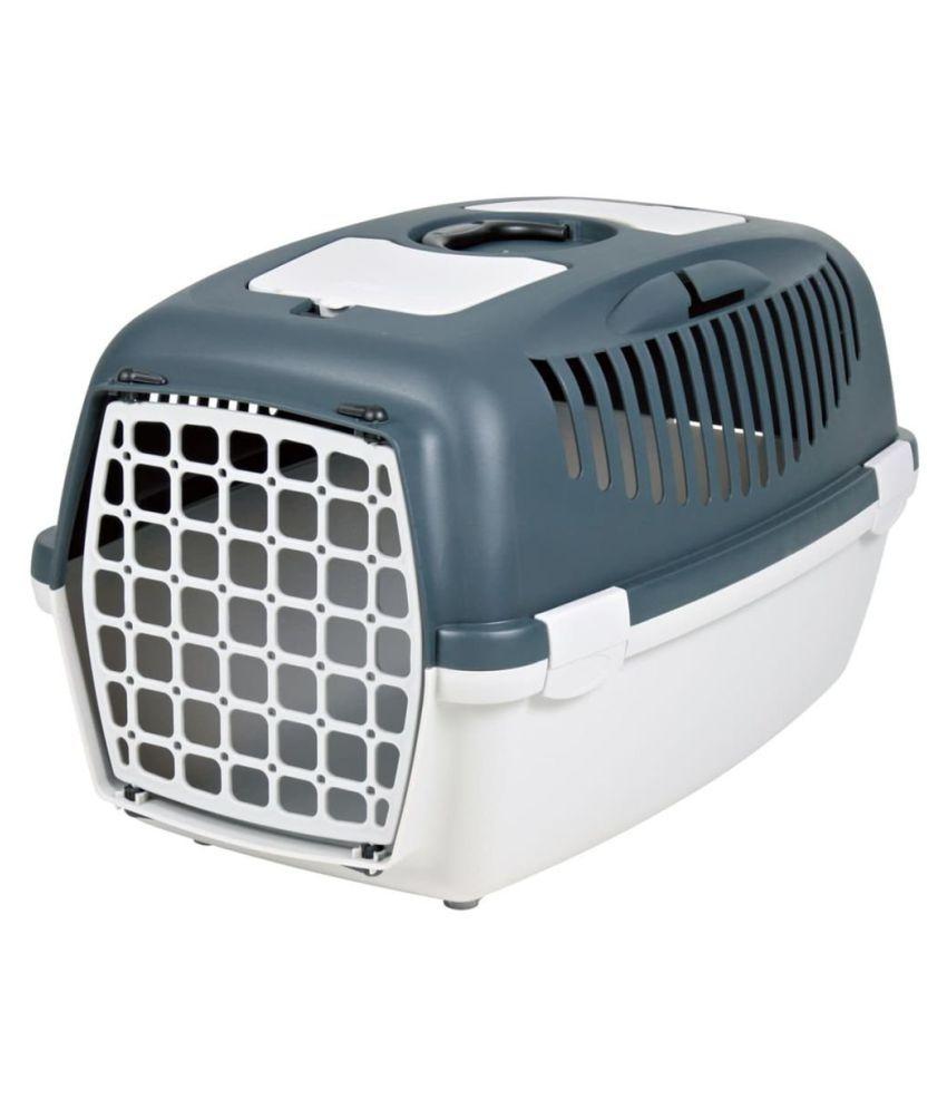 Trixie Capri Pet Carrier, Dark Grey (24x16x15-inch) for Dogs