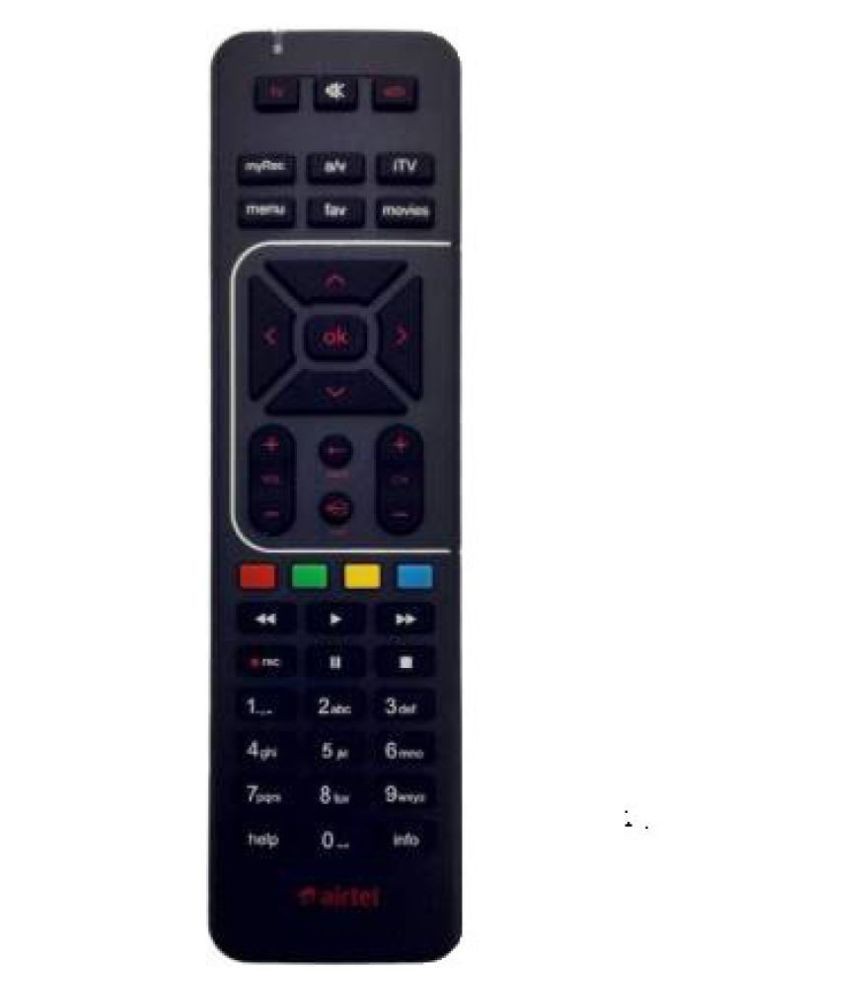 sinkul airtel tv DTH Remote Compatible with airtel tv