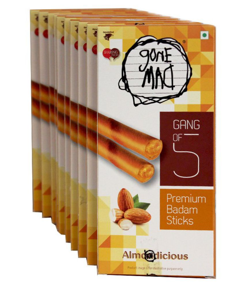 Gone Mad Badam Stick Candy Sticks 300 gm