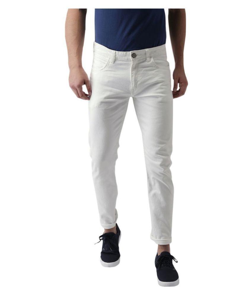 x20 White Skinny Jeans