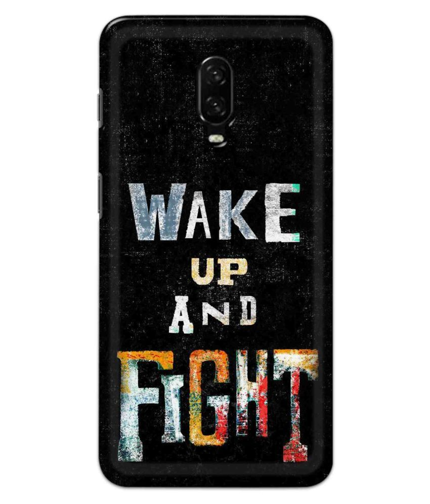 OnePlus 6t Printed Cover By Alve