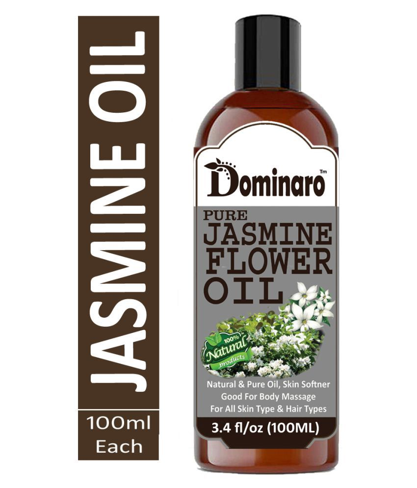 Dominaro Cold Pressed Jasmine Flower- Chameli oil 100% Pure & Natural 100 mL
