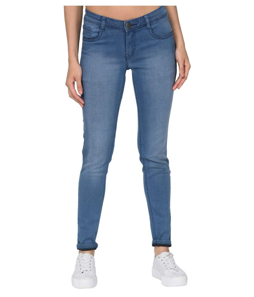 Studio Nexx Cotton Lycra Jeans - Blue