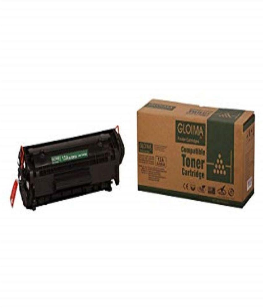 Gloima Imaging GL  12A  Q2612A  Black Single Cartridge for HP Laserjet 1010/1012/1015/1018/1020/1022/1022N/1022NW
