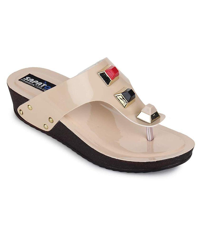 Sapatos Beige Flats