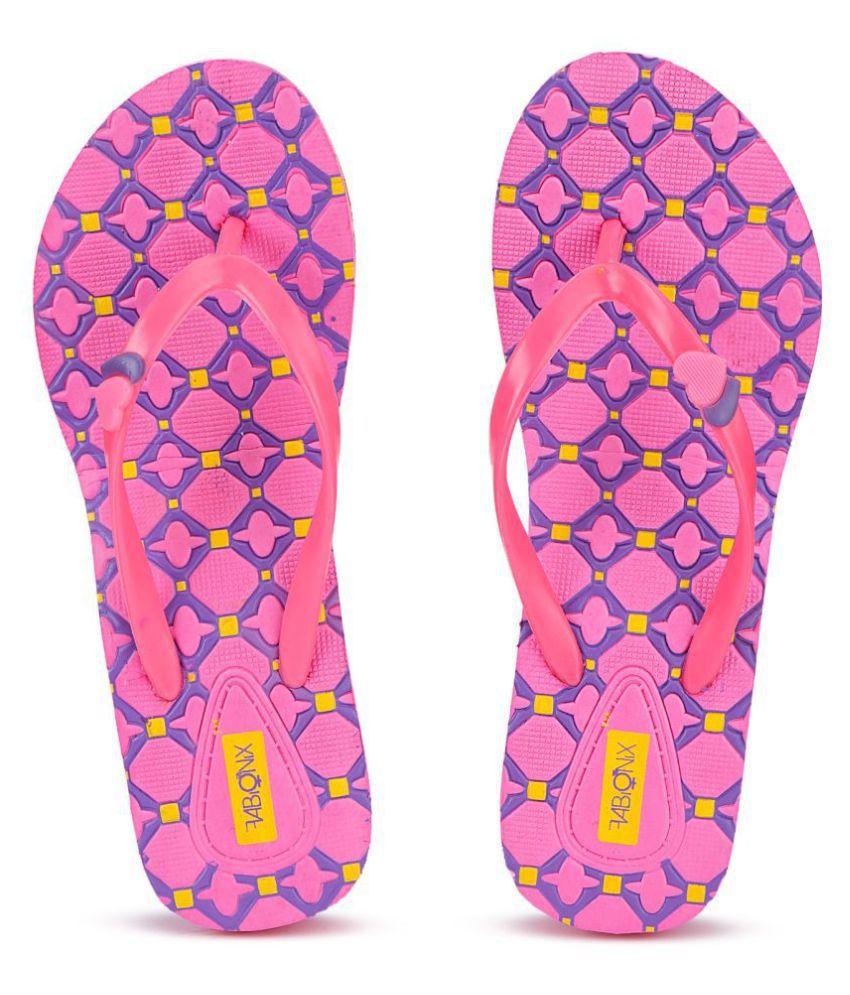 FABIONIX Pink Slippers