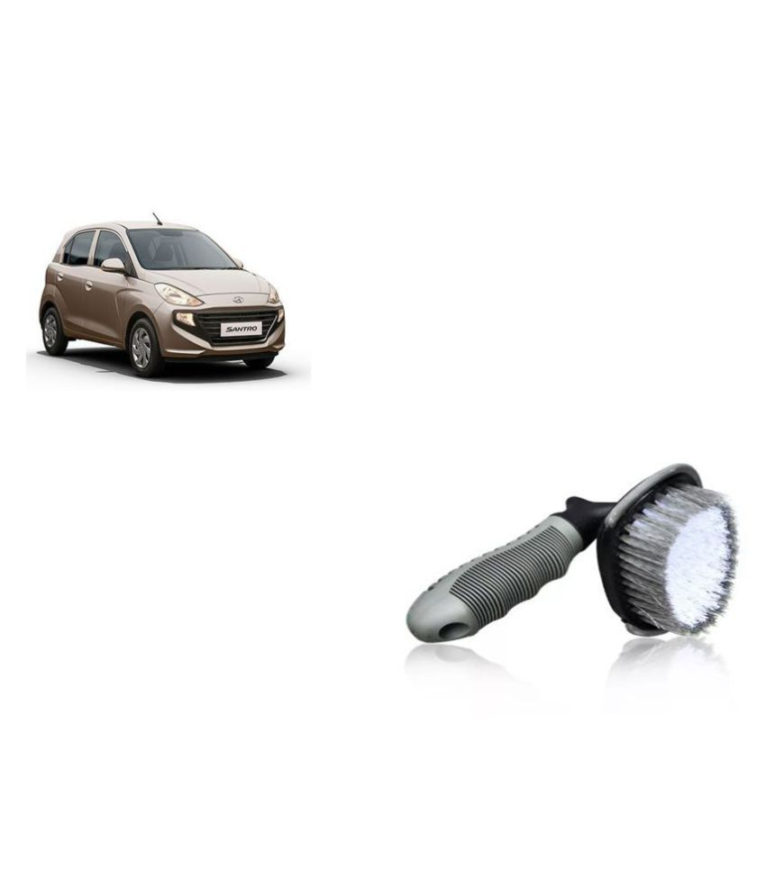 Madmex Car Tyre Brush Cleaner for Hyundai Santro Xing
