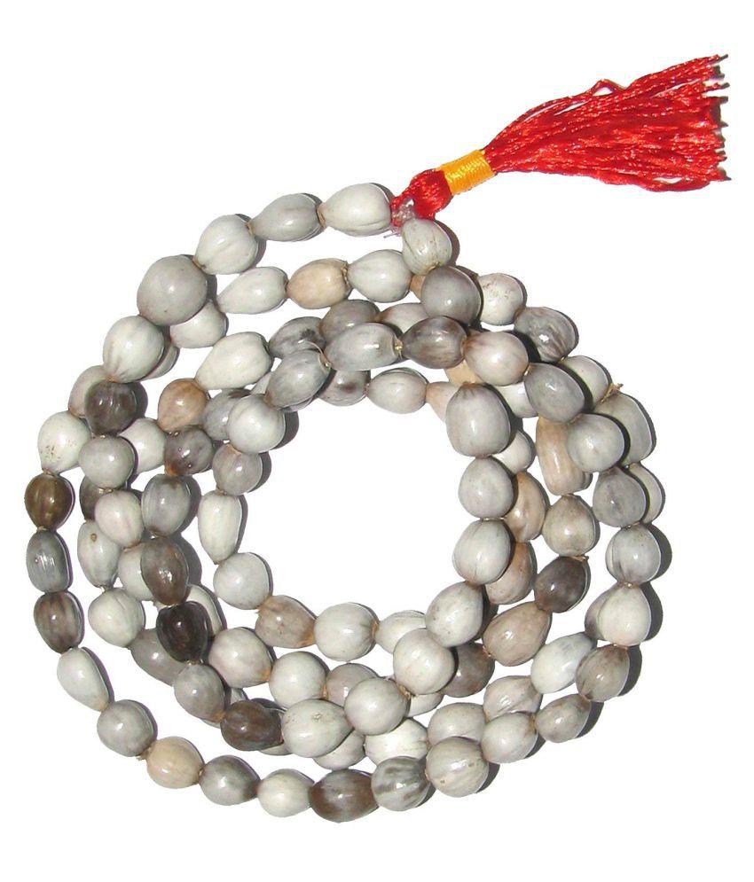 Natural Vaijanti Mala 108 +1 Beads Mankas 100% Original Vajyanti Mantra Japa Peace and Tranquility Guaranteed 100% Original Stone