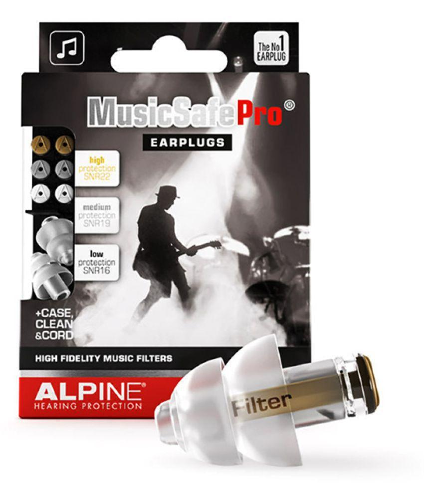 Alpine Musicsafe Pro® Transparant Ear Plugs