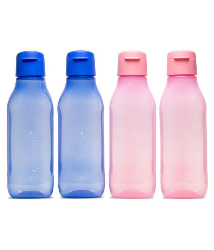 Tupperware Assorted 1000 mL Plastic Fridge Bottle set of 4
