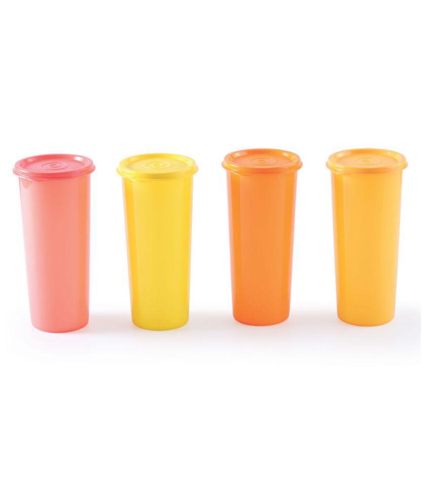 Tupperware Drinking Tumbler 450ml 4pc