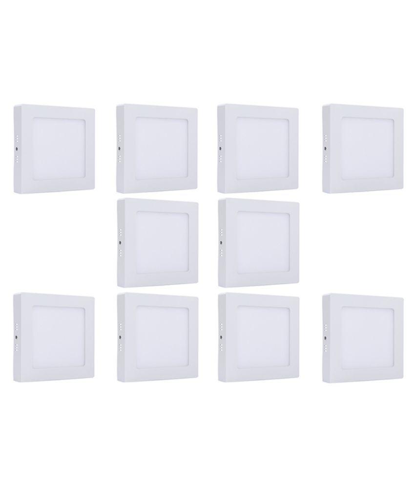 Bene 6W Square Ceiling Light 10.5 cms. - Pack of 10