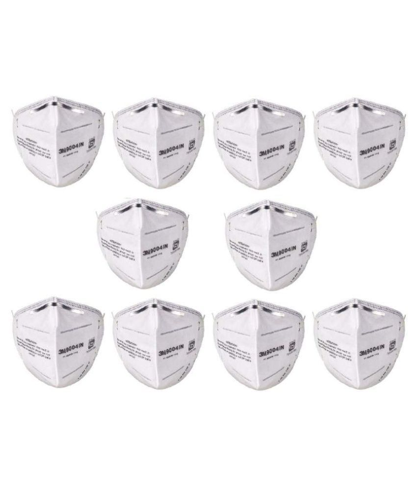 NATURES WRAP 3M N95 MASK - PACK OF  10 N95 Mask