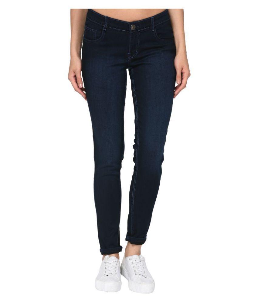 Studio Nexx Cotton Lycra Jeans - Blue