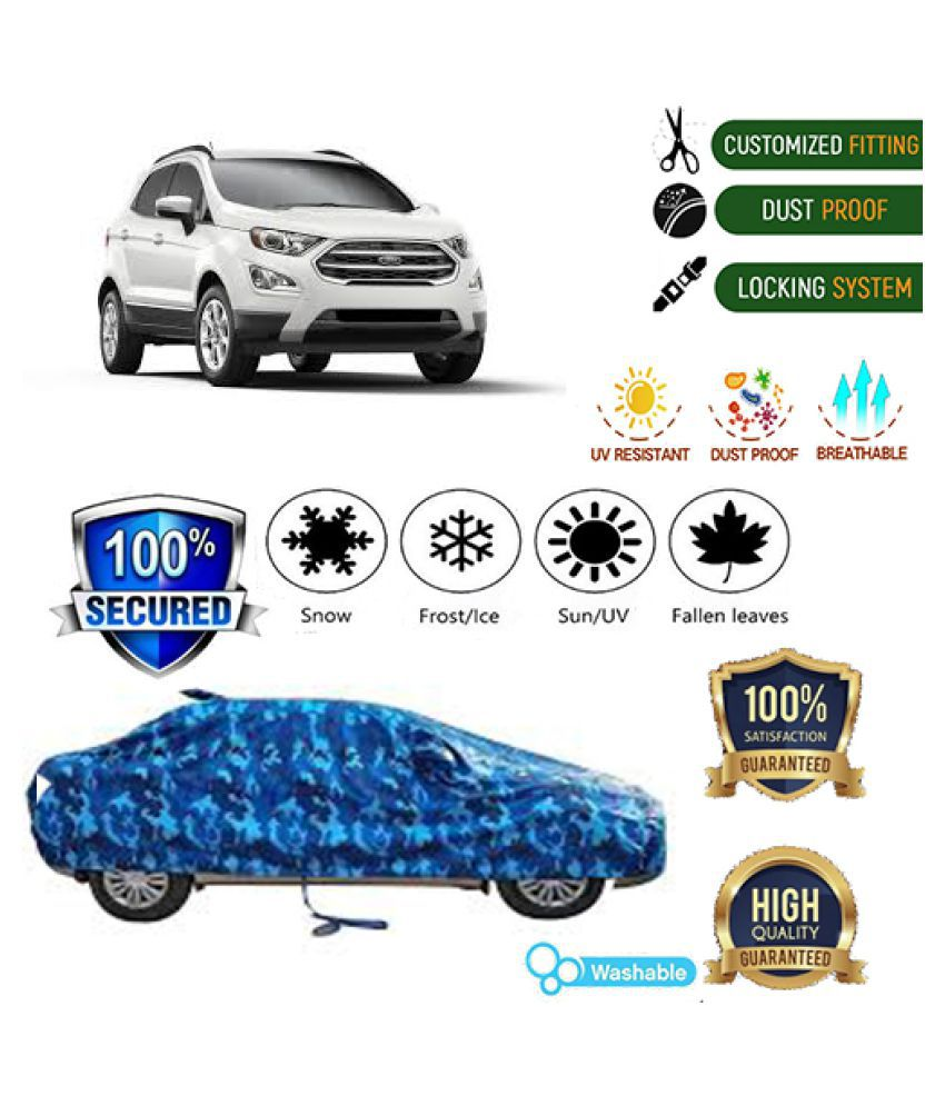 QualityBeast Jungle Car cover for Ford EcoSport