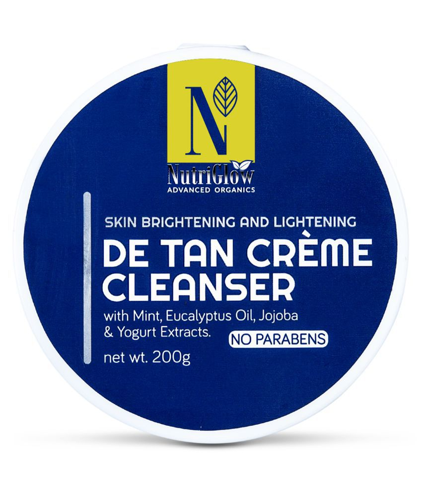 Nutriglow Advance Organics De Tan Creme Cleanser Facial Kit 200 g