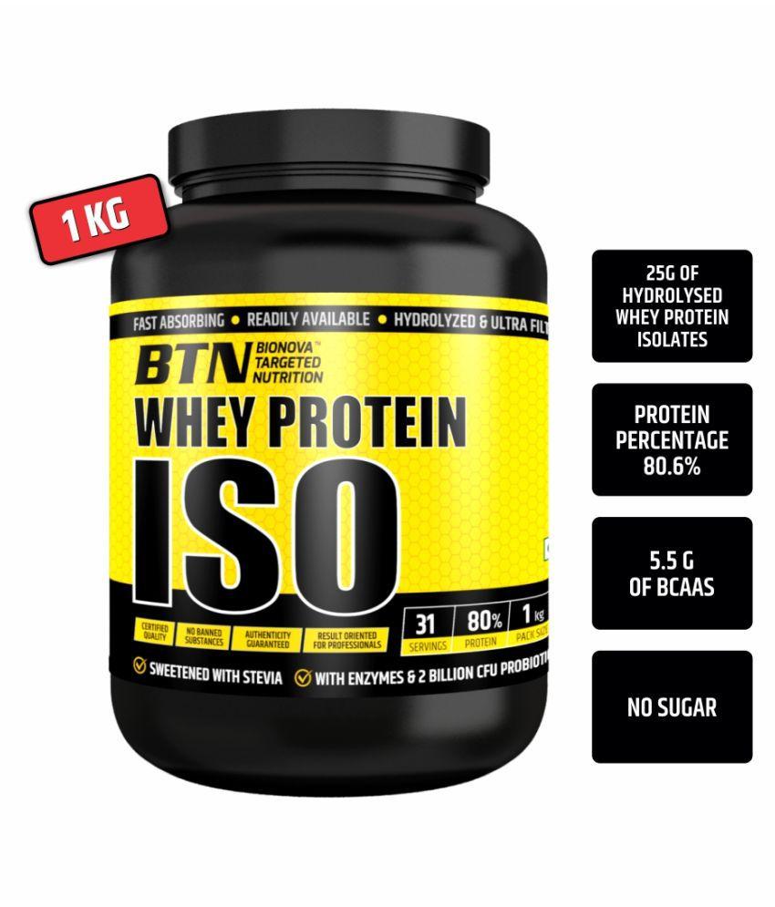 Bionova Whey Protein ISO 1 kg