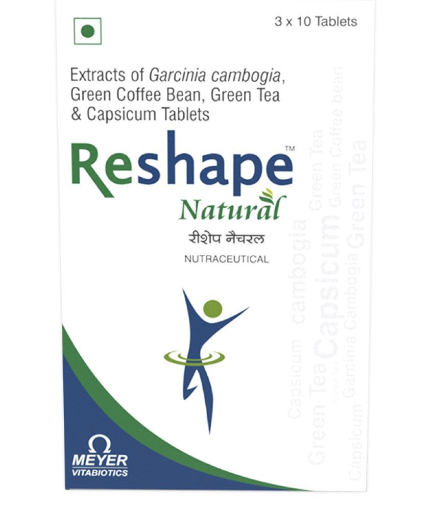 Reshape Natural Weight loss supplement 10 no.s Unflavoured