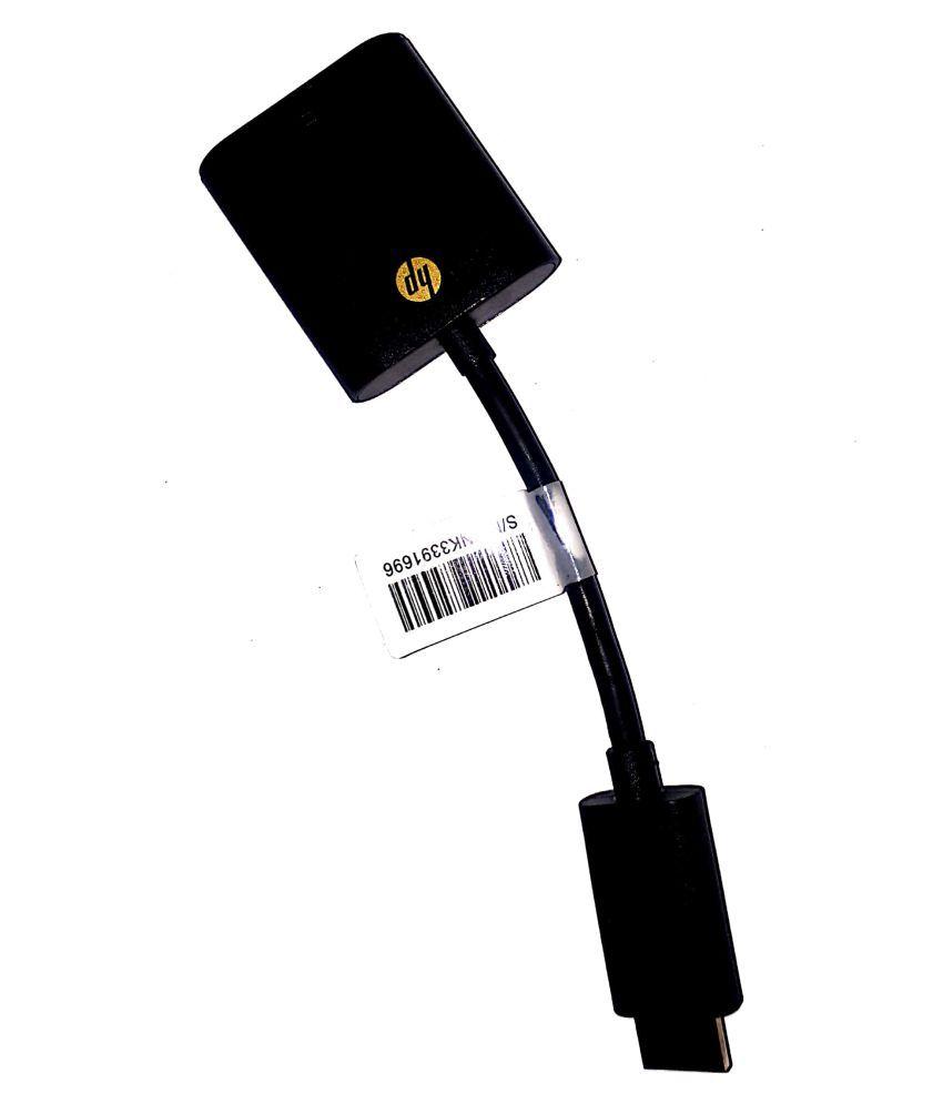 HL, HDMI TO VGA CONVERTER Plug and Play Up to 1080P Full HD Display