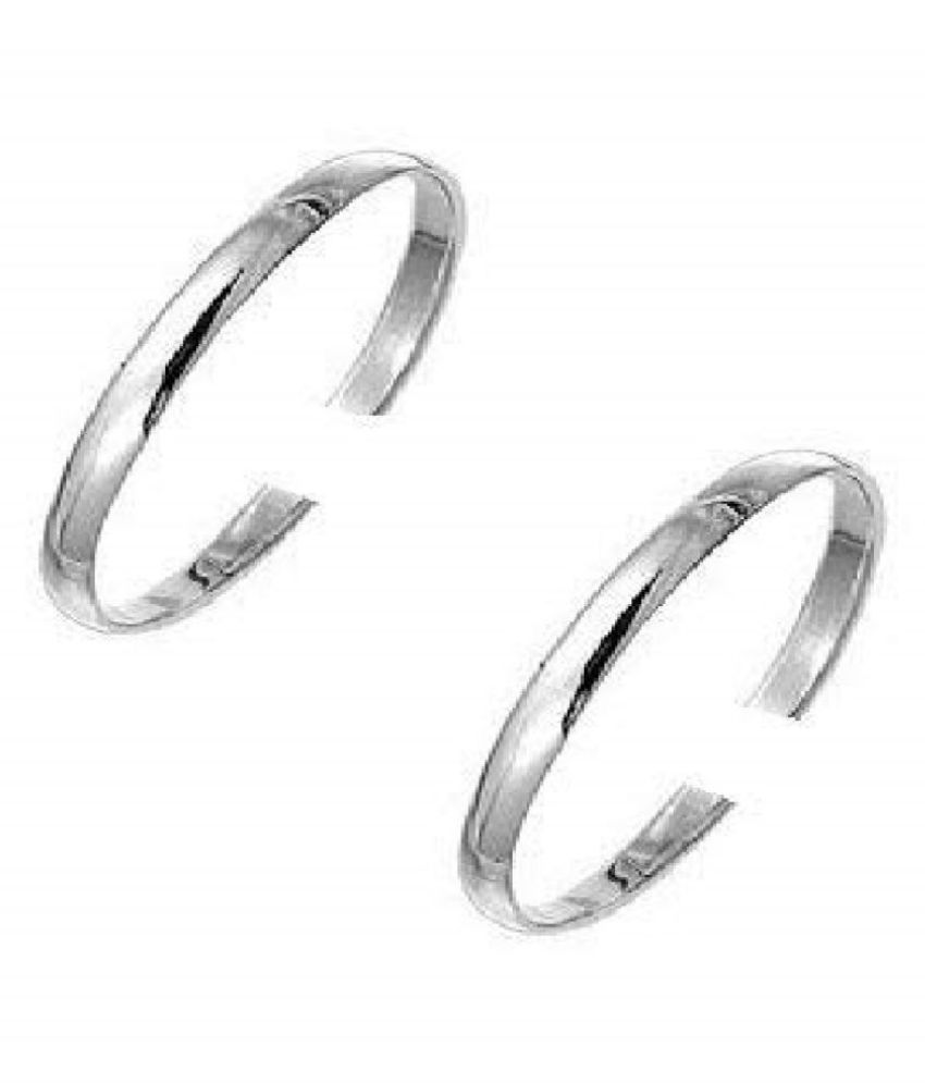 Toe Ring Sterling Silver Abstract Pattern Design Toe Ring Adjustable Jewelry for Women. (011)