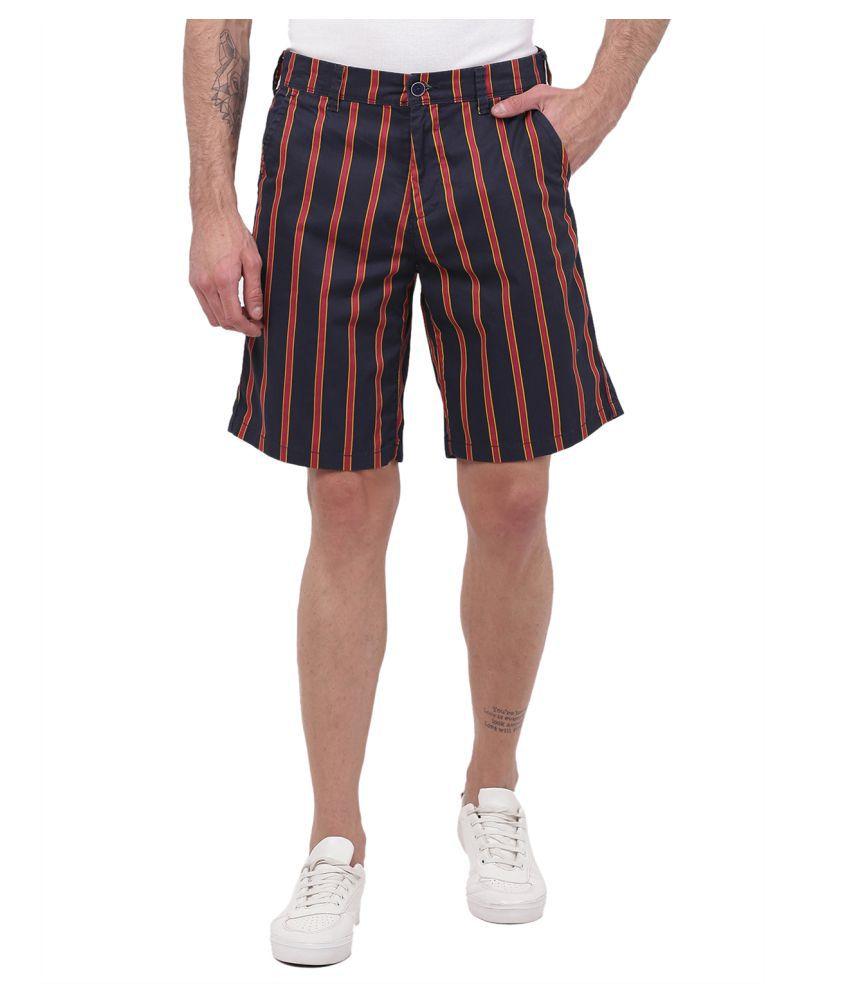 2Bme Navy Shorts