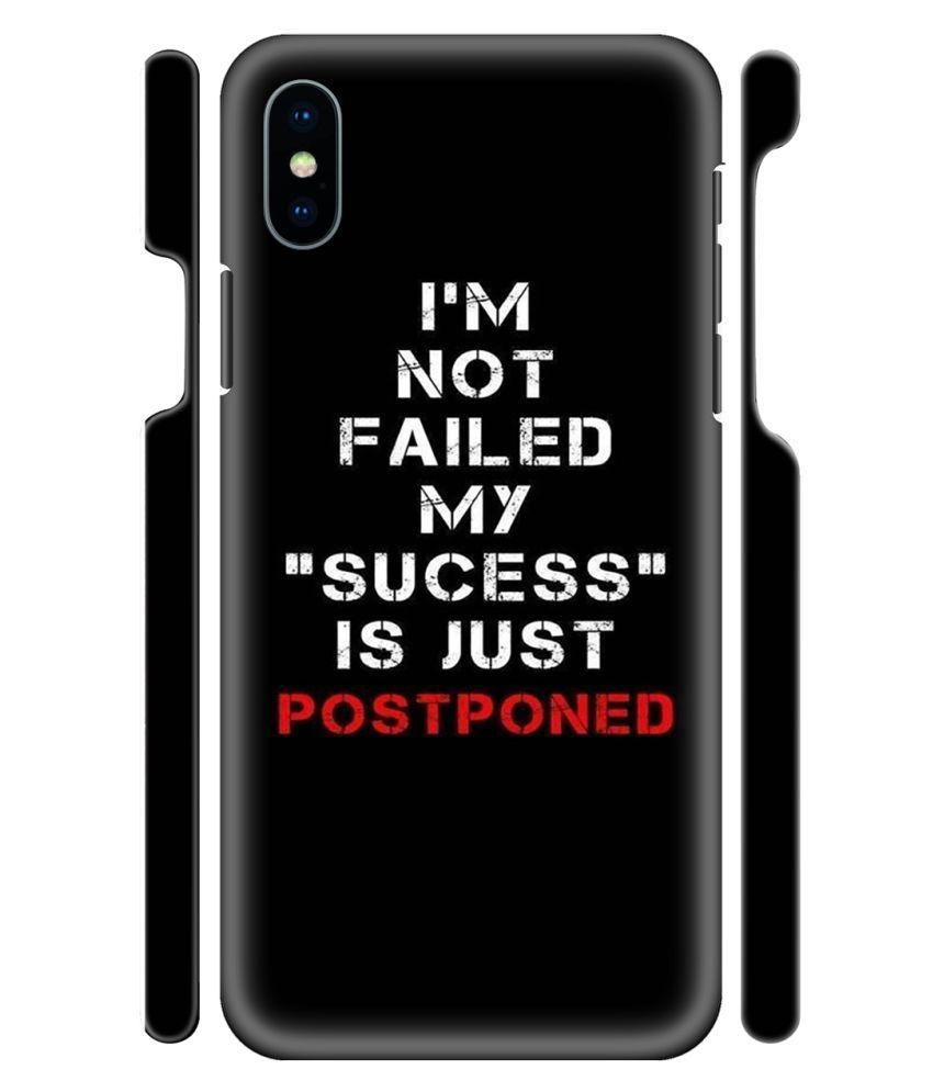 iPhone X Printed Cover By YAPZONE