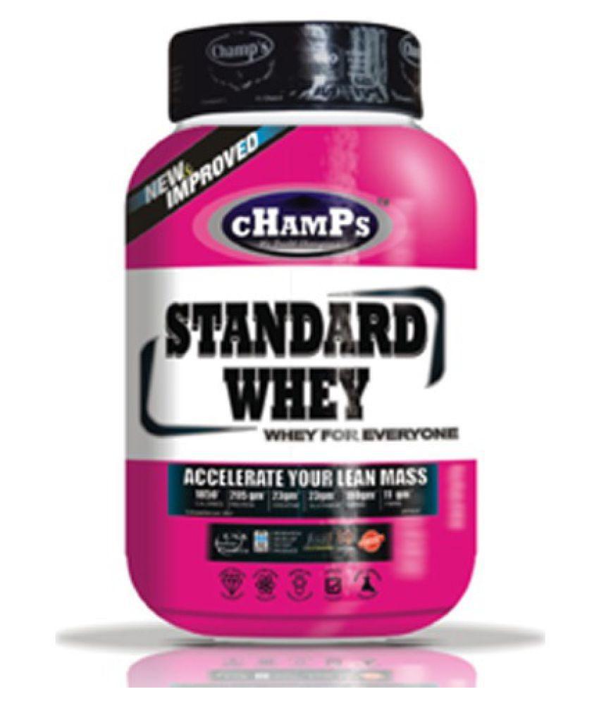 Champs Standard Whey (908g)  American Ice Cream 2 lb