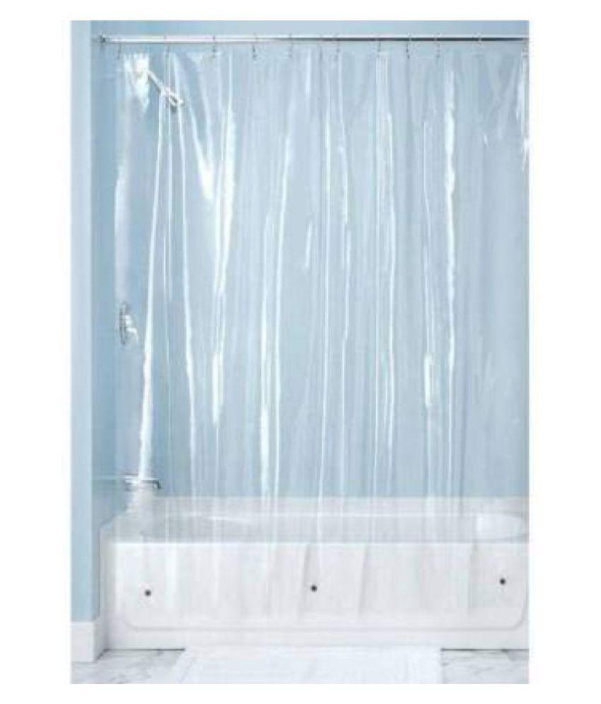 HomeStore-YEP Single Shower Curtain White Others