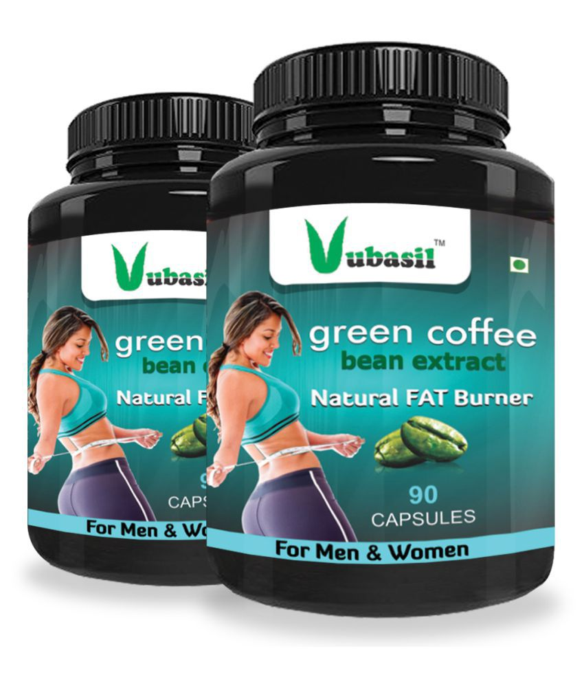 VUBASIL Best Green Coffee Weight Loss Immunity Booster 180 800 mg Fat Burner Capsule