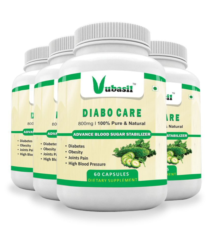 VUBASIL Diabetes Control Medicine (240 Capsules) 800 mg