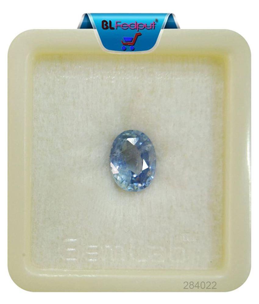 A1 Gems 5 - 5.5 -Ratti Self certified Blue Sapphire (Neelam)