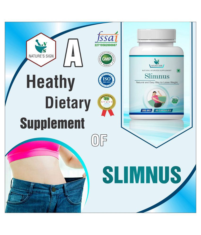 Nature's Sign Slimnus Easy Way to Loose Weight 1 gm