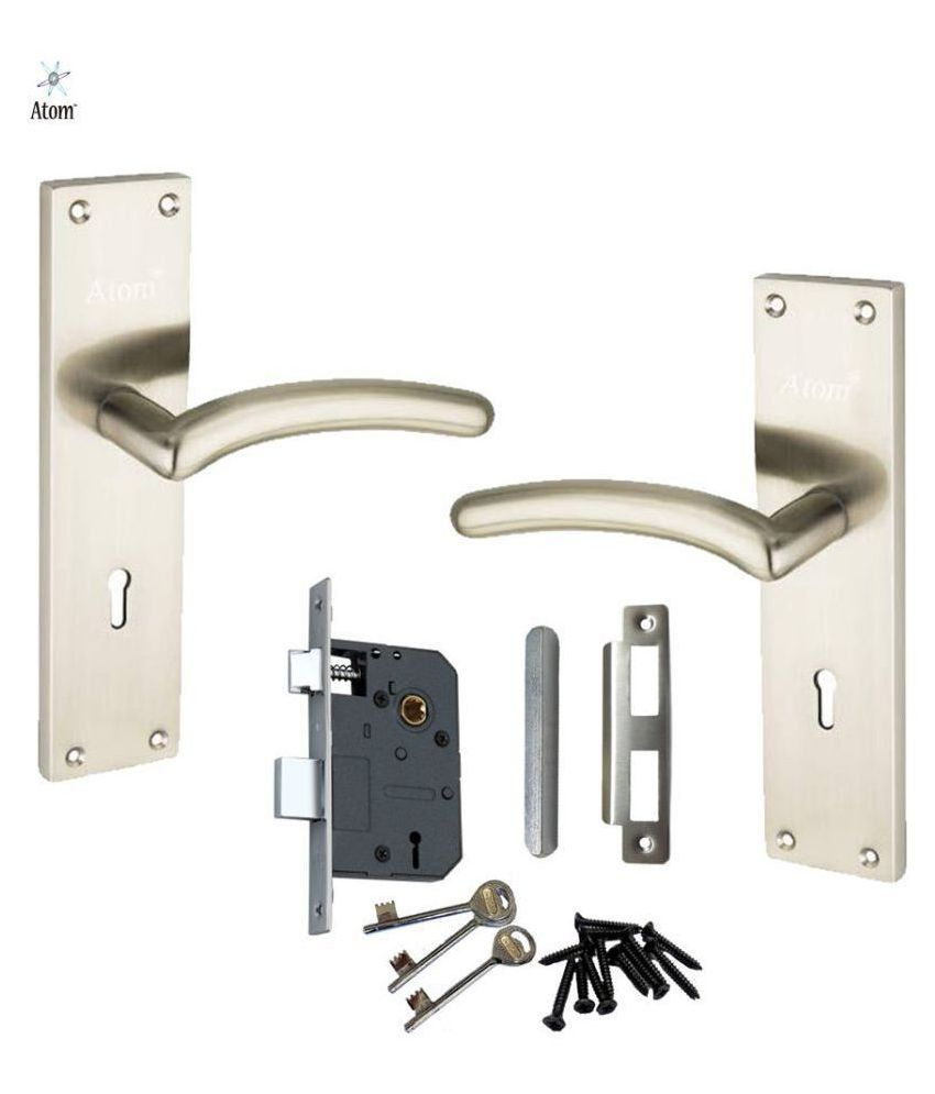 Mortice Handle, Mortice Lock, Door Lock, Lock, Atom AL-57 K.Y SS With Lezend Lock