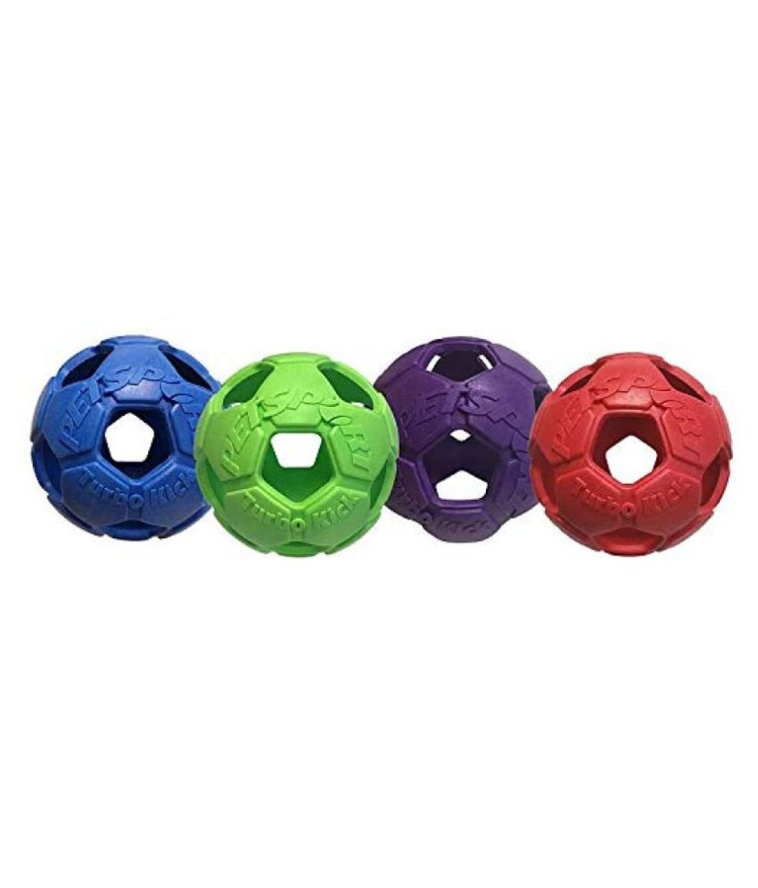 Petsport Turbo Kick Soccer Ball - 4 Inch for Dogs