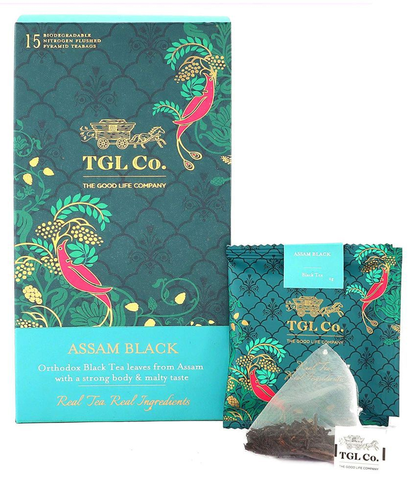 TGL Assam Black (Bliss) Black Teabag Box 32 Tea Bags