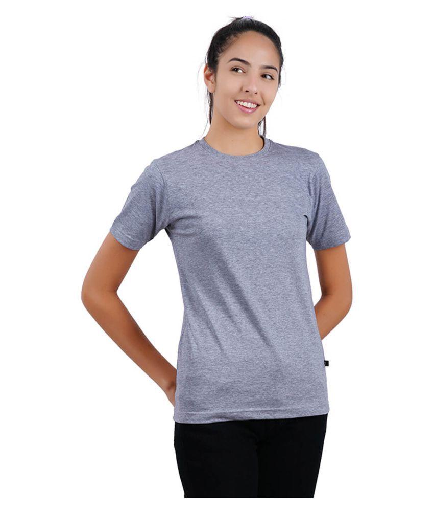 stoovs Cotton Grey T-Shirts