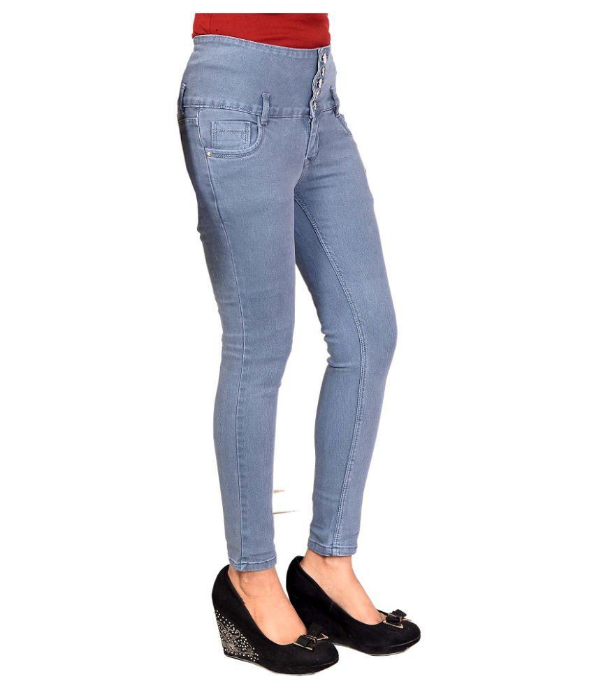 Rj Fashion Denim Jeans - Grey